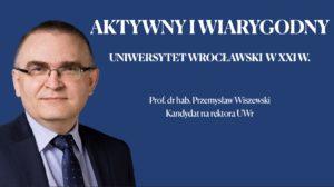 Prezentacja przedstawiona w czasie debaty z kandydatami na rektororau UWr